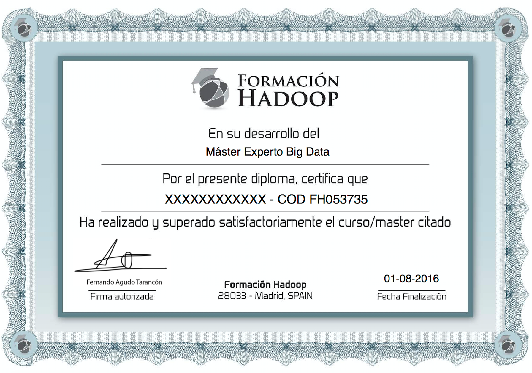 Certificado FH