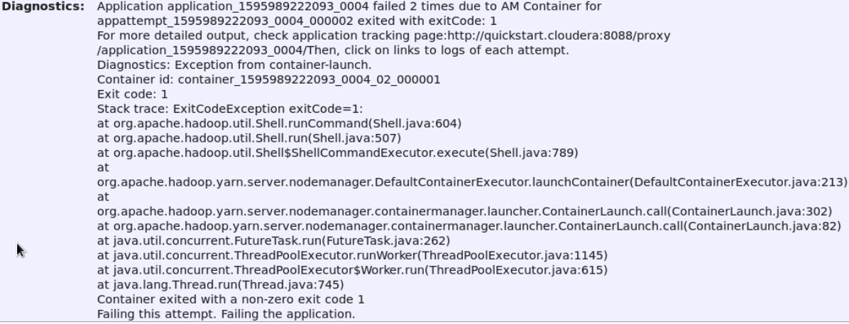 Error al ejecutar wordcount-1.jar en el hdfs